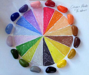 Crayon Rocks Kavicskréta színpaletta