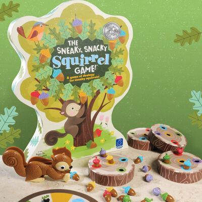 Sneaky, Snacky Squirrel mókusos, csipeszes ügyességi társasjáték