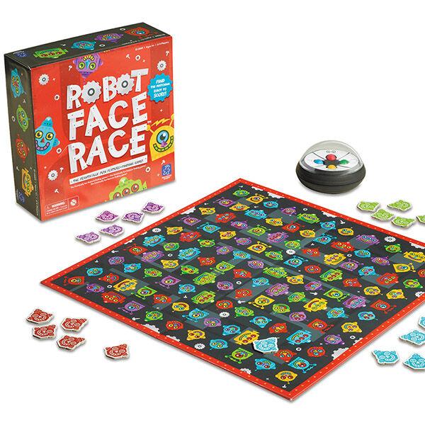 Robot Face Race társasjáték
