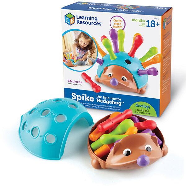 Spike finommotorika fejlesztő süni