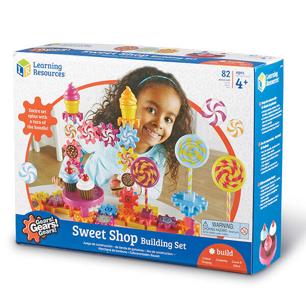 Gears! Gears! Gears! Cukrászda és cukorkabolt fogaskerekes építőjáték lányoknak