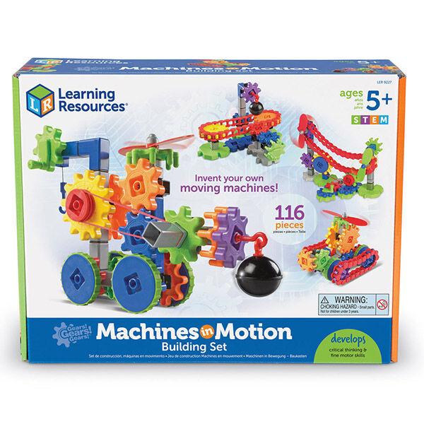 Gears! Gears! Gears! Fogaskerekes gép építő játék