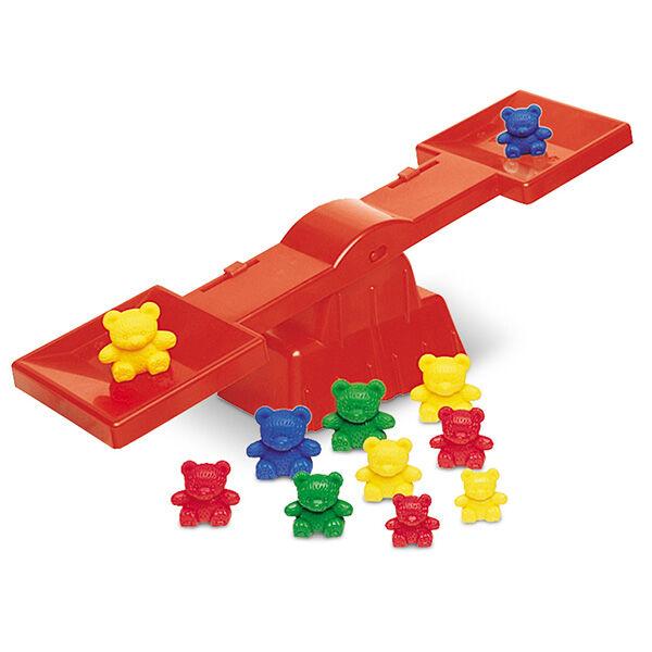 Three Bear Family macis egyensúlyozó játék