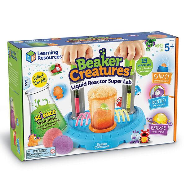 Beaker Creatures Folyékony Reaktor Szuper Laboratórium