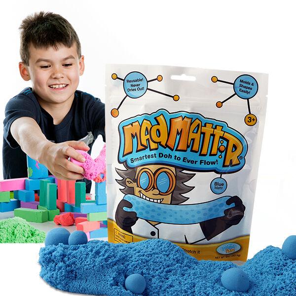 Mad Mattr - örökmozgó gyurma - kék