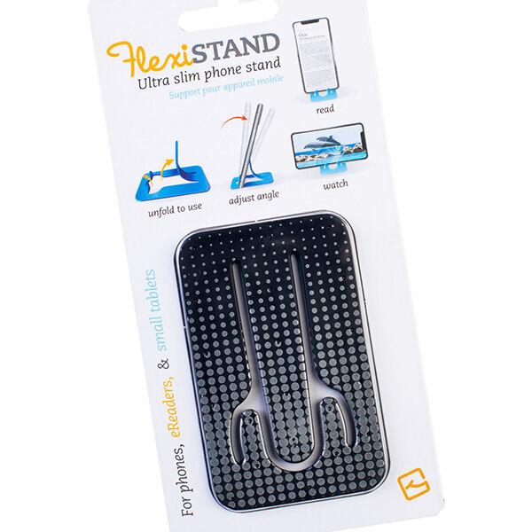 Flexistand Silver Dots mobiltartó