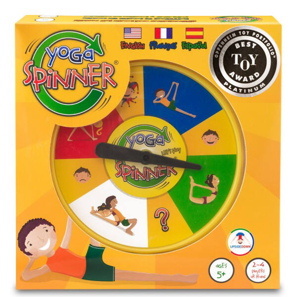 ThinkFun Yoga Spinner Game ügyességi játék