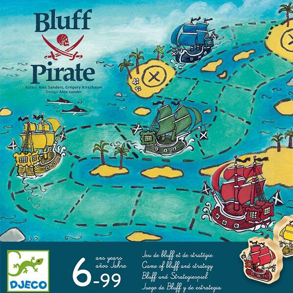 Blöffölős kalózos társasjáték - Djeco Bluff Pirate
