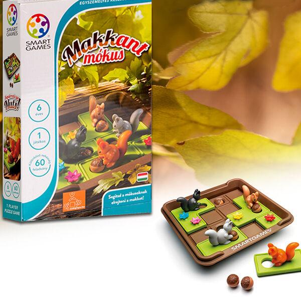 SmartGames Makkant mókusok készségfejlesztő játék