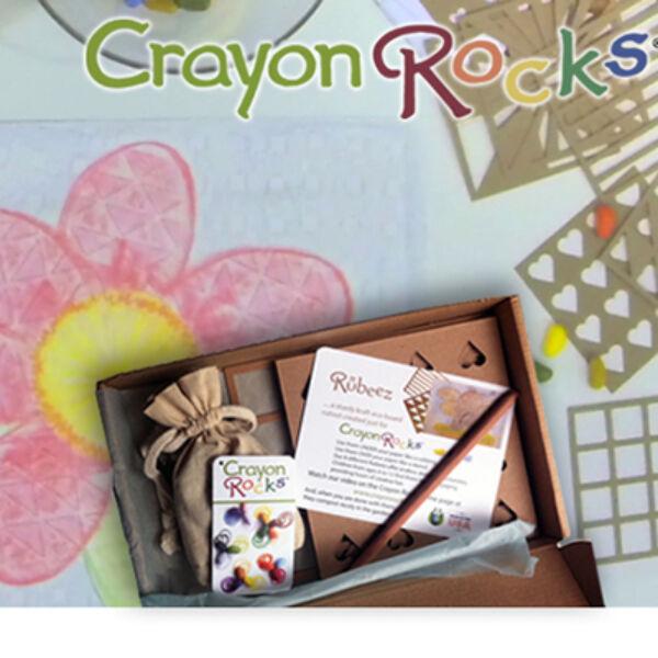 Crayon Rocks Rubeez - művészdoboz