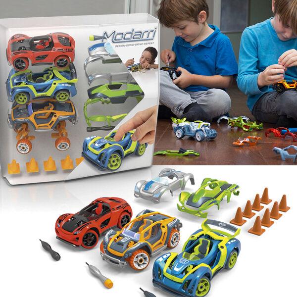 Modarri Delux TrioPack építhető játékautó modell