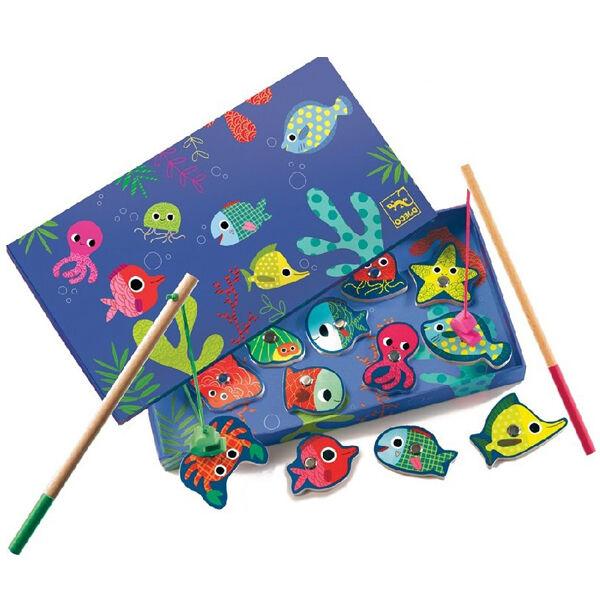 DJECO Mágneses horgászat - színek