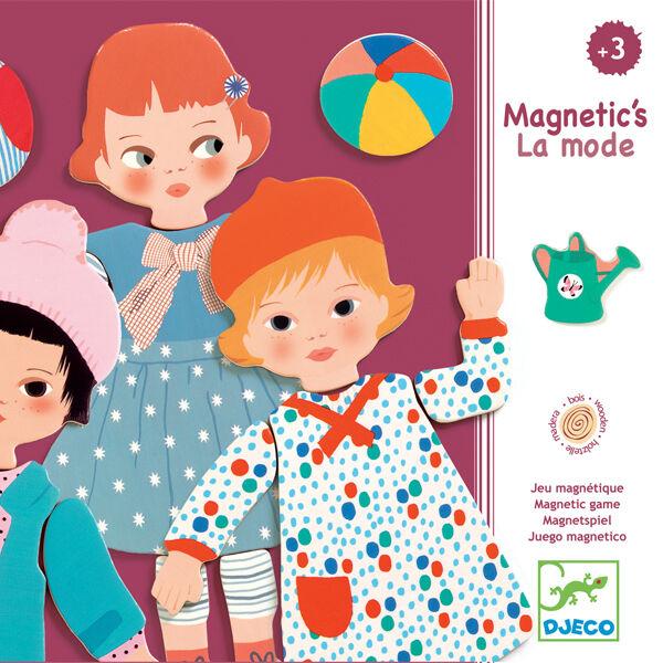 DJECO Mágneses képkirakó - La mode - öltözékek