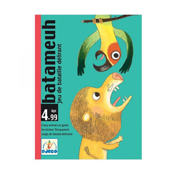 DJECO Batameuh - állati hangok kártyajáték