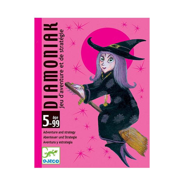 DJECO Diamoniak - Tündér és boszorkány kártyajáték