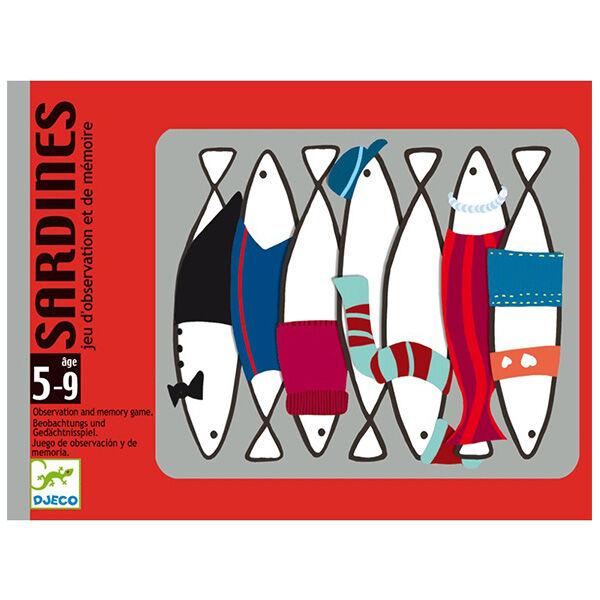 Sardines - Memóriát fejlesztő kártyajáték