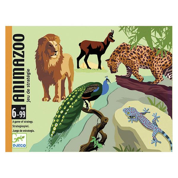 DJECO Animazoo - Legjobb állatkert kártyajáték