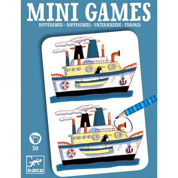 DJECO Mini games -Különbségek (fiús)