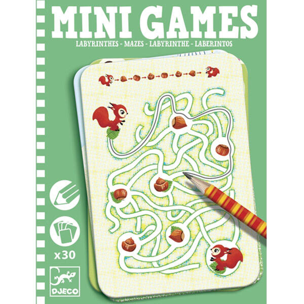 DJECO Mini games - Labirintusok