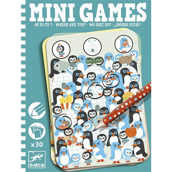 DJECO Mini games - Hová bújtál?