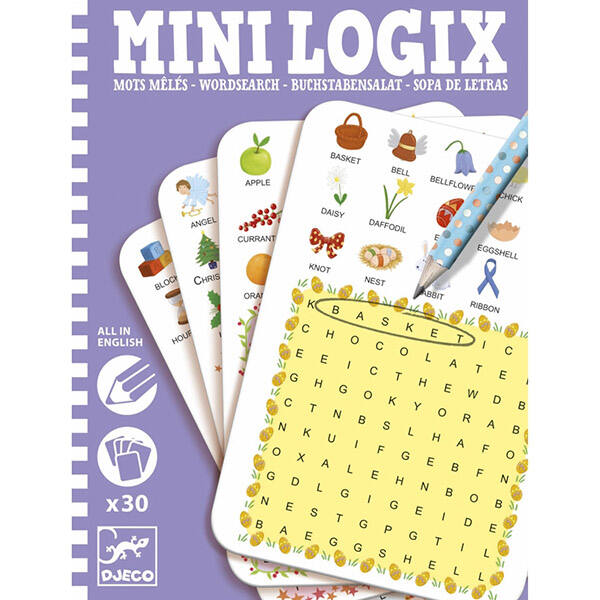 DJECO Mini logix -  Szó kereső (angol)