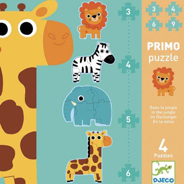 DJECO Óriás puzzle - Szavanna
