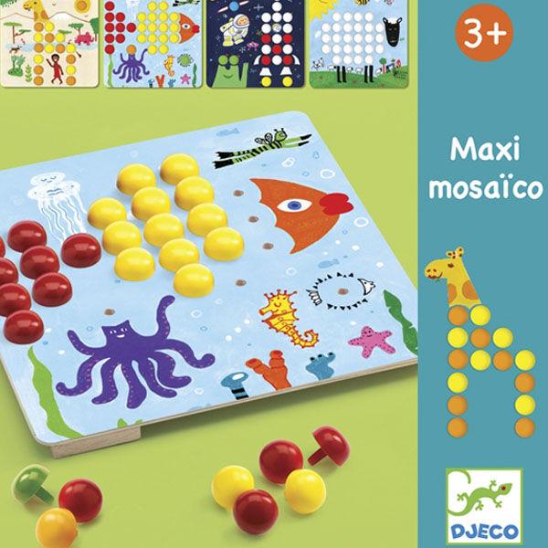 DJECO Maxi pötyi (mozaik képek)