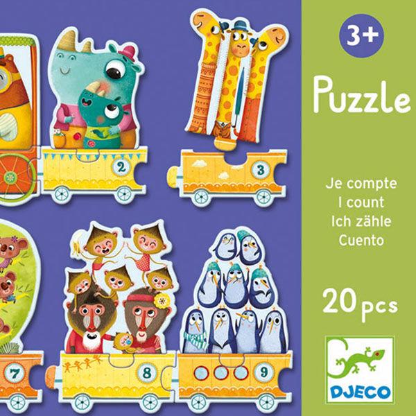 DJECO Számolós puzzle