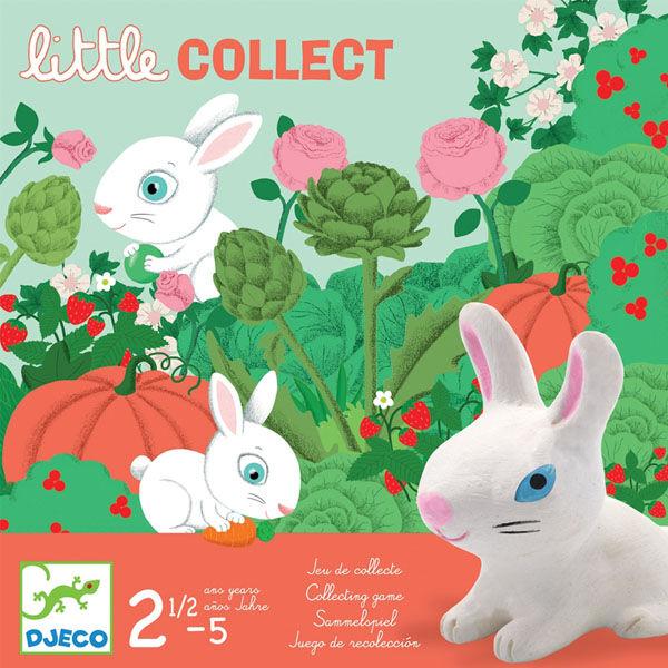 DJECO Little collect - Nyuszi ül a fűben társasjáték kicsiknek