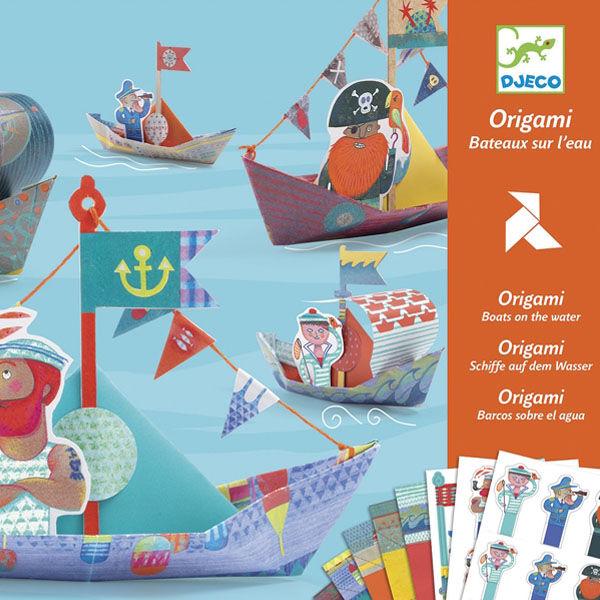 DJECO Origami -  Vitorláshajók