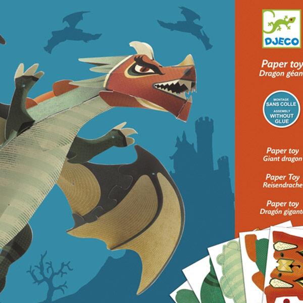 DJECO Óriás sárkány kreátor - Giant dragon