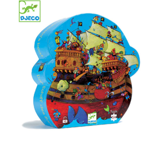 DJECO Barbarossa hajója (puzzle / 54 db-os)