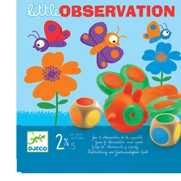 DJECO Little Observation - Lepkefogó  társasjáték