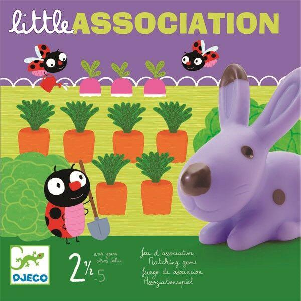 DJECO Little association társasjáték 2 éves kortól