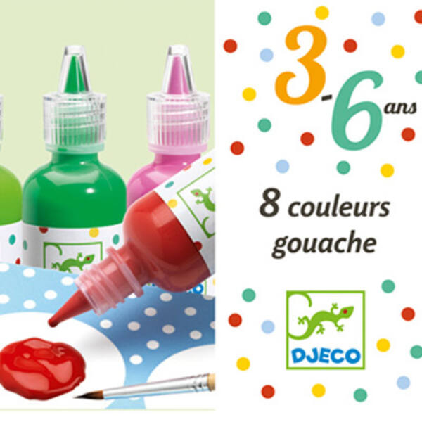 Djeco - Folyékony festék (gouache)