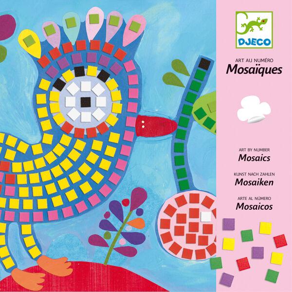 Djeco - Mozaikkép (többféle)