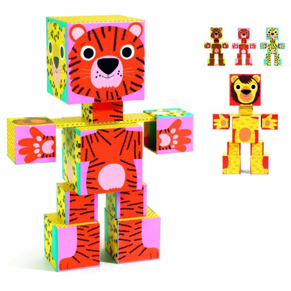 DJECO Totem cubes (többféle)
