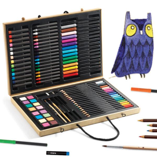 Djeco - Óriás kreatív készlet