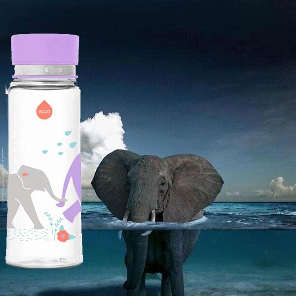 EQUA BPA mentes kulacs - Elefánt