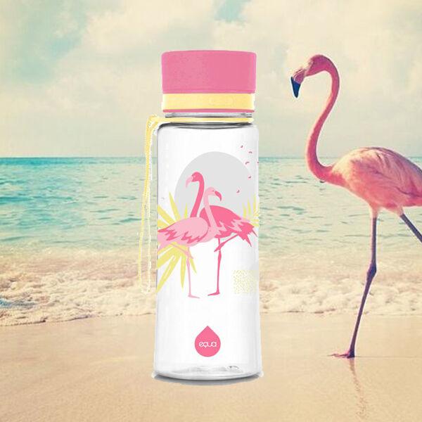 EQUA BPA mentes kulacs - Flamingo