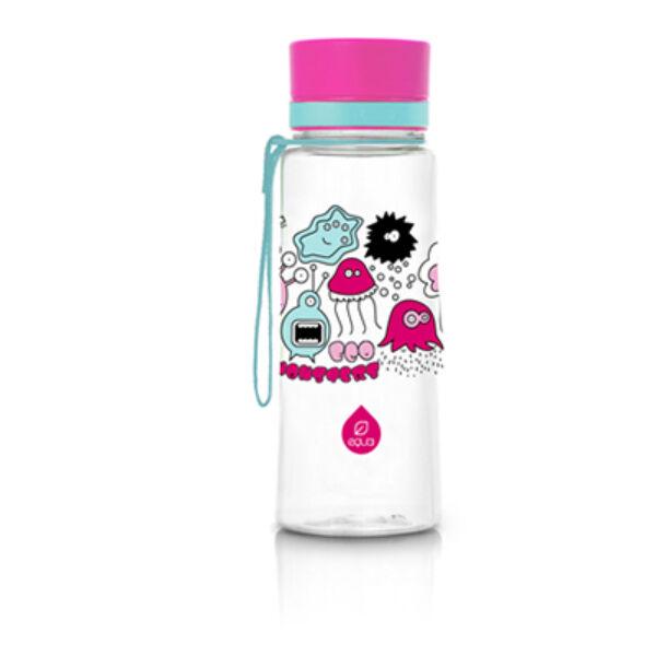 EQUA BPA mentes kulacs - Pink monster