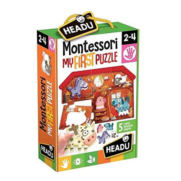 HEADU Montessori első puzzle -Tanya