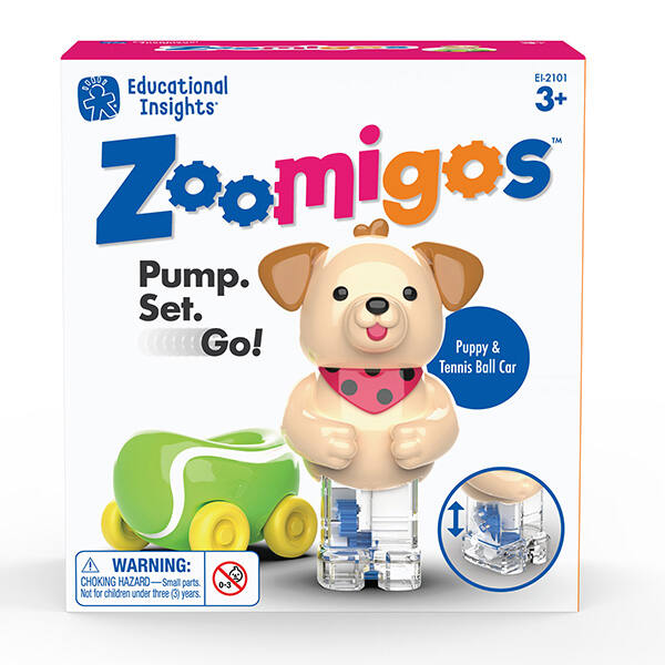 Zoomigos - kézügyesség fejlesztő kutyus járgányban