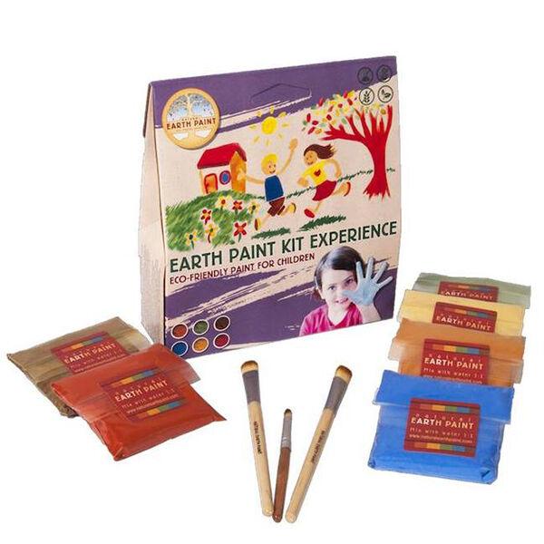 Natural Earth Paint vízfesték-ujjfesték  csomag