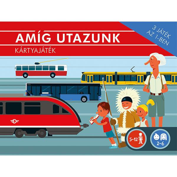 Pagony Amíg utazunk 3 in 1 közlekedési kártyajáték