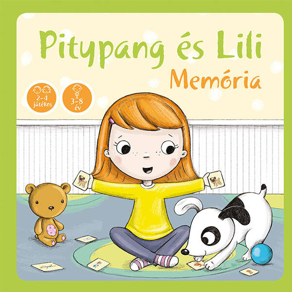 Pagony Pitypang és Lili memória