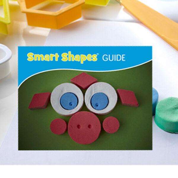 Smart Shape Guide - Kreatív Formavágó Fejlesztő Füzet
