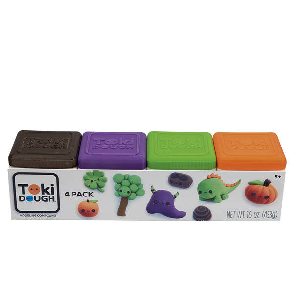 Toki Dough négy színben (barna-lila-zöld-narancs)