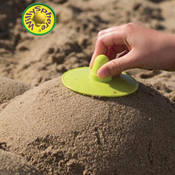 WillySpheres - homokgömbölyítő